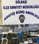 KAÇAK CEP TELEFONU - Gölbaşı İlçesinde Kaçak Cep Telefonları Ele Geçirildi