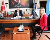 GENÇ GİRİŞİMCİLER - Güloğlu Sigortadan Başkan Takva'ya Ziyaret