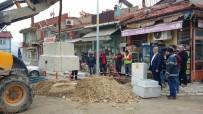 KAMERA SİSTEMİ - Hisarcık'ta Mobese Sistemi Kurulum Çalışmaları