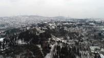 İSTANBUL BOĞAZI - İstanbul'da Beyaz Örtü Havadan Görüntülendi