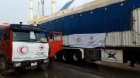 KIZILHAÇ - Kızılhaç'tan Afrin'e Yardım