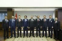 SERBEST MUHASEBECİLER - Muhasebeciler Başkan Çelik'i Ziyaret Etti