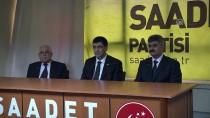 TEMEL KARAMOLLAOĞLU - Saadet Partisi Genel Başkan Yardımcısı Ağdağ Açıklaması