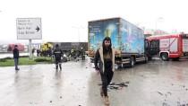 KıŞLA - Samsun'da Trafik Kazası Açıklaması 4 Yaralı