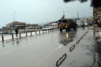 ASKERİ ARAÇ - Sinop'a Gelen Askeri Araçlar Dikkat Çekti