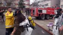 DOĞALGAZ BORUSU - Sivas'ta Okulda Yangın Ve Kurtarma Tatbikatı