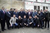 BÜLENT KORKMAZ - Ünlü Sanatçılar Ve Sporcular Harekata Destek İçin Kilis'e Geldi