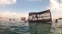 DENİZ KAZASI - Üsküdar Vapuru'nda Hayatını Kaybedenler İçin Denizin Dibine Çelenk Bıraktılar