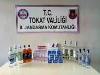 DEĞIRMENLI - Valizinden 13 Litre Kaçak İçki Çıktı