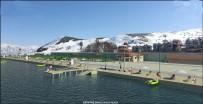 YÜRÜYÜŞ YOLU - Van Büyükşehir Belediyesinden Gevaş'a Halk Plajı