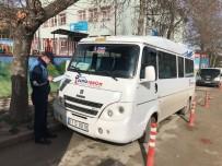 GÜZERGAH - Zabıta Müdürlüğü'nden Servis Araçlarına Denetim