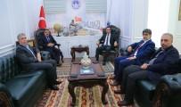 MALATYASPOR - Adil Gevrek'ten Gürkan'a Ziyaret