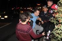 ALKOLLÜ SÜRÜCÜ - Alkolü Fazla Kaçıran Sürücü Polisleri Çileden Çıkardı