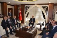 HAKAN ÇAVUŞOĞLU - Başbakan Yardımcısı Çavuşoğlu, Hakkari'den Ayrıldı