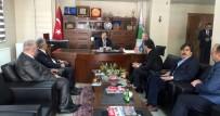 HAKKARI ÜNIVERSITESI - Başbakan Yardımcısı Çavuşoğlu'ndan HATSO'ya Ziyaret