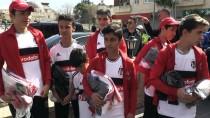 KİLİS VALİSİ - Beşiktaş, Kilisli Çocukları Sevindirdi