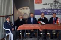 GAZİLER DERNEĞİ - Didim'de Gaziler Derneği, Şehitleri Dualarla Yad Etti