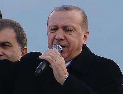 Erdoğan bir kez daha hatırlattı