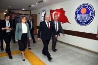İHRACAT - Fatma Şahin, Başkan Kocamaz'ı Ziyaret Etti