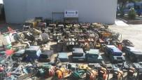 KAYNAK MAKİNESİ - Hurdacı Hırsız Jandarmadan Kaçamadı