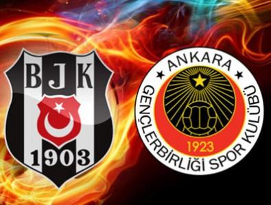 Beşiktaş Gençlerbirliği: 1-0 Maç Sonucu