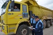 MÜSAMAHA - Kartepe'de Hafriyat Kamyonları Denetlendi