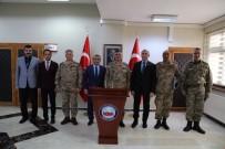 TUNCELİ VALİSİ - Korgeneral Çardakçı'dan, Elazığ, Tunceli Ve Bingöl'e Ziyaret