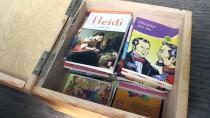 TAŞIMALI EĞİTİM - Okul Servisleri 'Kütüphane'ye Dönüştürüldü