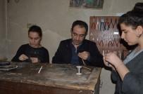Mardin'de Telkari Sanatı Kadınların Elinde Şekilleniyor