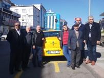 AHMET ERDOĞDU - Taksicilerden 'Uber' Tepkisi