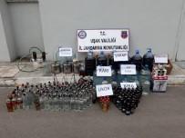 KARAKUYU - Uşak'ta Kaçak İçki İmalathanesine Operasyon