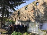 BIZANS - 4 Bin Yıllık Şehrin Tarihi Surları 'Kalekondu' İşgali Altında