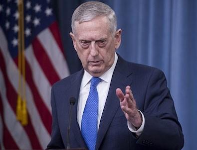 ABD Savunma Bakanı Mattis: Konuşmak doğru olmaz