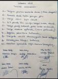 İMAM HATİPLER - Ağrı'da Köylülerden Taziye Anayasası