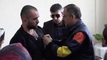 SÜLEYMAN KAMÇI - Bakan Özhaseki'den Afrin Gazilerine Ziyaret