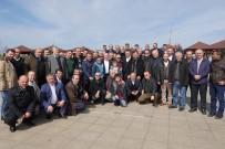 OLIMPIYAT - Başkan Gümrükçüoğlu, Ulaşım Dairesi Çalışanlarıyla Bir Araya Geldi