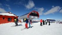 YAĞAN - Cıbıltepe'de Mart Ayında Kayak Keyfi