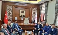 ALİ HAMZA PEHLİVAN - Gümrük Ve Ticaret Bakanı Tüfenkci Bayburt'ta