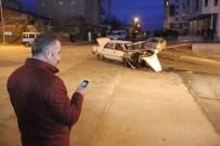 CANLI YAYIN - Kaza Sonrasını Sosyal Medyadan Canlı Yayınladı