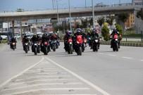 PAYAS - Motosiklet Tutkunlarından Mehmetçiğe Destek Konvoyu