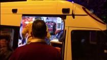 İTFAİYE MERDİVENİ - Prize Takılı Şarj Aleti Yangına Neden Oldu