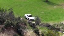 ÇUKUROVA ÜNIVERSITESI - Şarampole Yuvarlanan Otomobilin Sürücü Ağır Yaralandı