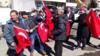MAZLUM - Sarıkamış'ta, Afrin'e Destek Konvoyu Düzenlendi