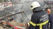 Terk Edilmiş Öğrenci Yurdunda Yangın Çıktı