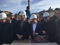 MAKAM ODASI - Tillo Belediyesinin Yeni Hizmet Binasının Temeli Atıldı