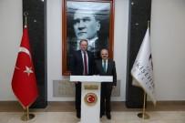 ESKİŞEHİR VALİSİ - AB Büyükelçisi Christian Berger Eskişehir'de