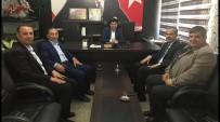 İBRAHİM ASLAN - AK Parti Adıyaman Yönetimi Aslan İle Bir Araya Geldi