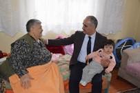 OKSIJEN - Başkan Aydın'dan, İhtiyaç Sahibi Aileye Yardım Eli