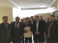 İLAHİYATÇI - Başkan Bakıcı Ve Ömer Döngeloğlu'ndan Hasta Ziyareti