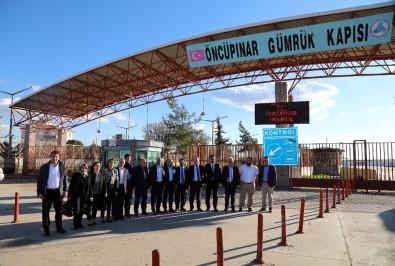 Başkan Yazgı'dan Kahraman Mehmetçiğe Destek Ziyareti